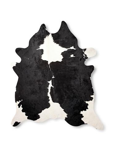 Natural Kobe Cowhide Rug (Black & White)