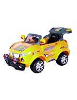Delia Baby Thunder Jeep, Yellow