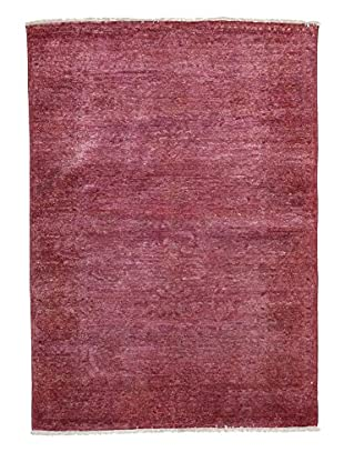 Solo Rugs Ziegler One of a Kind Rug, Pink, 4' x 6'