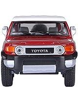 KINSMART Toyota Fj Cruiser- Red