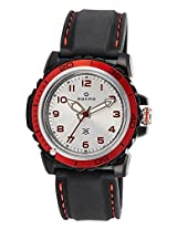 Maxima Hybrid Analog Silver Dial Men's Watch - 31182PPGW