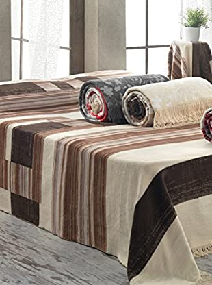 Homemania Decke 1814A mehrfarbig 150 x 220 cm