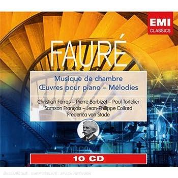 EMI ガブリエル・フォーレ:室内楽曲・ピアノ曲・歌曲集(10枚組)のAmazonの商品頁を開く