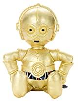 Star Wars Beans Collection C 3 Po Stuffed Toy Sitting Height About 14cm