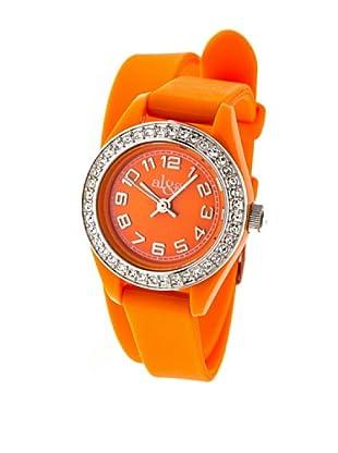al&co Reloj Doublstrap Strass Naranja