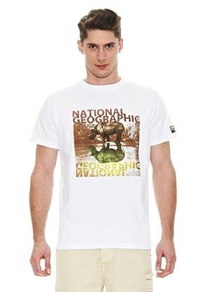National Geographic Camiseta Rhino (Blanco)