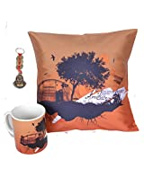 Republic Day Cushion Cover Mug Lucky Charm RD22