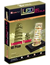 "CubicFun 3D Puzzle LED-Series ""Leaning Tower of Pisa - Pisa"""