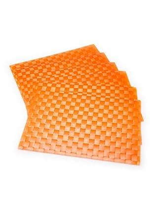 Tognana Set 6 Tovagliette 45X32 cm (arancione)