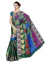 Saree Sansarr Saree (7113_Green)