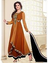 Shazia Designer Semi Stitched Anarkali Suit