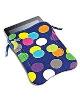 NEW BUILT Apple iPad or 10 Tablet Neoprene Sleeve, Scatter Dot