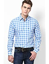 White Full Sleeves Casual Shirts Allen Solly