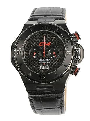 Carbon 14 E15 - Reloj Caballero Movimiento Quarzo Correa Piel Negro
