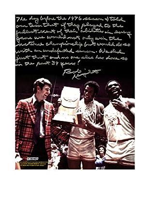 Steiner Sports Memorabilia Bob Knight Autographed Undefeated Season Story Photo