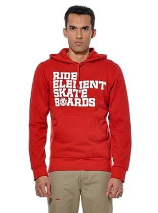 Element Sudadera Do It Ho (Rojo)