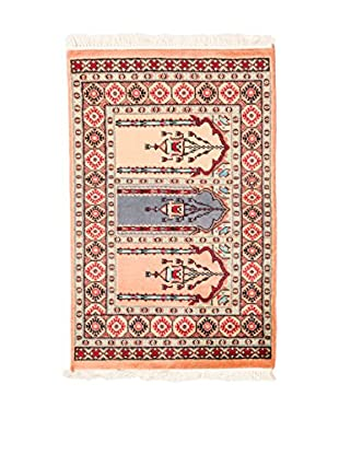 RugSense Alfombra Kashmir Maquillaje/Multicolor 98 x 61 cm