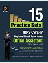 15 Practice Sets IBPS CWE (RRBs) Office Assistant Recruitment Examination