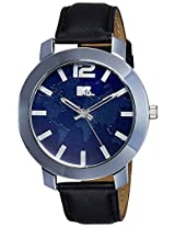 MTV Analog Blue Dial Men's Watch - M-3014