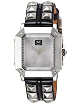 Marc Ecko Analog Silver Dial Women's Watch - E08511L1