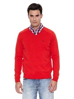 Pedro del Hierro Jersey Nueva Calidad (Rojo)