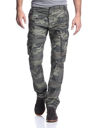 Union Jeans Men's Duke 2 Camo Cargo Pant (Grenade)