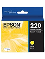 Epson DURABrite Ultra Standard-Capacity Ink Cartridge, Yellow (T220420)
