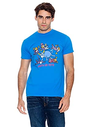 Kukuxumusu Camiseta Hasta Los Testis (Azul)