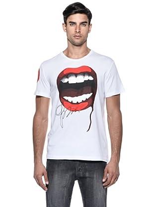 232 Made In Art T-Shirt Bocca (Bianco)