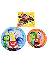 Disney Pixar Inside Out Holiday Birthday Party Pack Plates & Napkins Serves 8