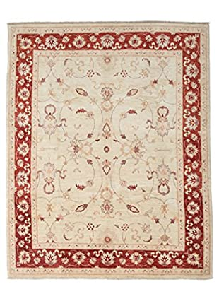 Solo Rugs Oushak Hand-Knotted Rug, Ivory, 6' 7