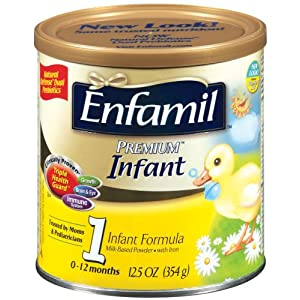 Enfamil Premium Powder Formula for Infants, 12.5-Ounce Cans (Case of 6) (Packaging May Vary)