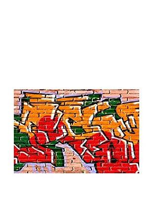 Legendarte Leinwandbild Graffiti Indecifrabili 60X90