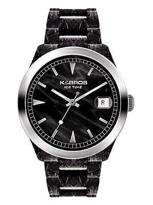 K&BROS 9545-1 / Reloj Unisex caucho negro
