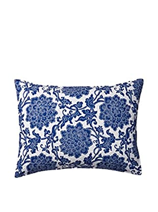 Davenport Standard Sham, Blue/White