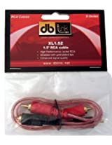 db Link XL1.5Z X-Series Shielded RCA Cable