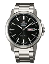 Orient Analogue Black Dial Men's Watch-(SEM7J003B8)