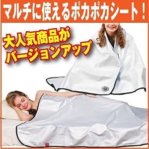 【2012年新タイプ】スペース暖シート プレミアム 2枚組 シングル