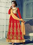 Arrival Red Queen Collection Anarkali Suit