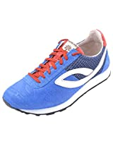Woodland Men's Casual Wear Leather Shoes Size 8 UK GJ1240113 RED BLUE