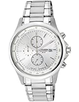 Citizen Analog White Dial Men's Watch - AN3510-50A