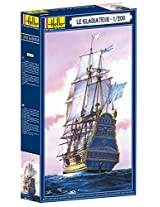 Heller Le Gladiateur Boat Model Building Kit