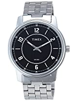 Timex Classics Analog Black Dial Men's Watch - TI000V80200