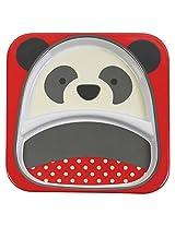 Skip Hop Zoo Divided Melamine Plate Panda, Multi Color