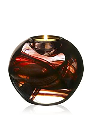 Kosta Boda Cool Moons Votive Brown