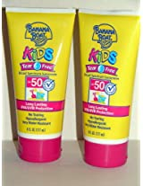 Banana Boat Kid's Sunblock Lotion Tear Free Spf 50, 6-Ounce Units (Pack of 2)