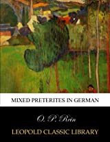 Mixed preterites in German