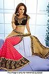 Ninecolours Bollywood Replica Lehenga - Pink & Beige