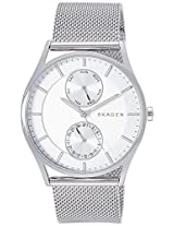 Skagen Holst Analog Silver Dial Men's Watch - SKW1065