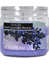 Candle-lite Essentials 3-1/2-Ounce Jar Candle, Fresh Lavender Breeze